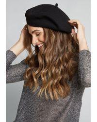 ModCloth - Isn't She Chic? Wool Beret - Lyst