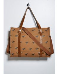 ModCloth - Camp Director Zipped Tote - Lyst