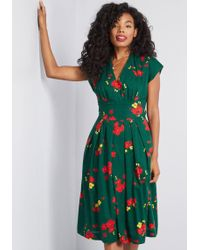 Emily and Fin - Saunter Sweetly Midi Dress - Lyst