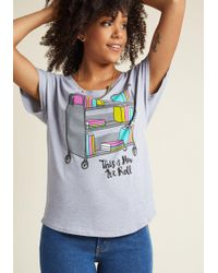 Out Of Print   It's Literature, Fam Graphic T-shirt   Lyst
