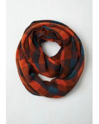 Ana Accessories Inc - Train Station Anticipation Circle Scarf In Paprika - Lyst