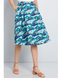 Emily and Fin - Inventive Spin Cotton Skirt - Lyst