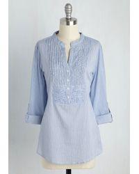 Magazine Clothing Co., Inc. - Sunday Drive Tunic In Stripes - Lyst