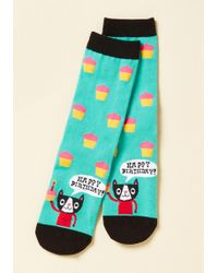 Sock It To Me - Time To Purr-ty Socks - Lyst