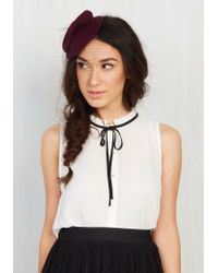 Cara - Topping Points Fascinator - Lyst