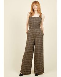Collectif Clothing - Reminisce And Tell Jumpsuit - Lyst
