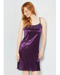 O2 Collection - Foundation Fascination Full Slip In Grape - Lyst