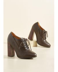 N.y.l.a. - Pull An Aptitude Heel In Cocoa - Lyst