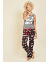 Sleep & Co. - Good Night, Cool World Pajamas - Lyst