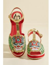 Miss L-fire - May I Have This Lion Dance? Sandal - Lyst