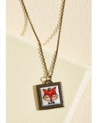 Ana Accessories Inc - Sly King Doesn't Strike Twice Necklace - Lyst