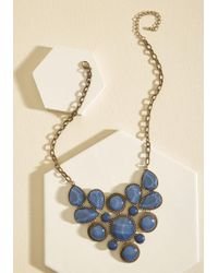 Ana Accessories Inc - Enlighten The Mood Necklace In Midnight Blue - Lyst