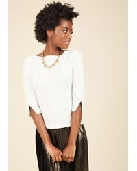Banned - Up To Parisienne Sweater In Ivory - Lyst