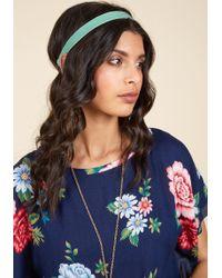 Ana Accessories Inc - Touch Of Luxury Velvet Headband In Pistachio - Lyst
