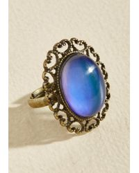 Zad Fashion Inc. | Feeling The Turn Color-changing Ring | Lyst
