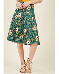 Banned | Pretty Much Paradise Midi Skirt | Lyst