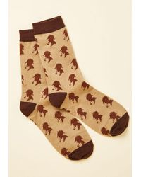 Out Of Print - Holmes Sweet Holmes Knee Socks - Lyst