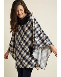 East Concept Fashion Ltd - Sweet As Cider Sweater In Arctic Plaid - Lyst
