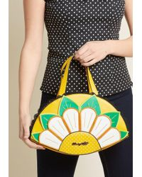 Banned - Here Comes The Sunflower Handbag By From Modcloth - Lyst