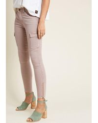 ModCloth - Into Utility Skinny Jeans - Lyst