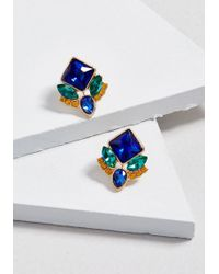 ModCloth - Pining For Shine Earrings - Lyst