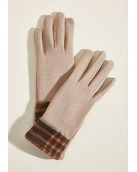 ModCloth - Frost In Thought Fleece-lined Gloves - Lyst