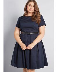 ModCloth - Your Retro Best Short Sleeve Dress - Lyst