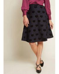 Collectif - X Mc Always A Kitsch A-line Skirt - Lyst
