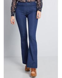 ModCloth - Upcoming Comfort Flared Jeggings - Lyst