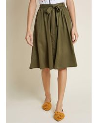 ModCloth - Dreamer And Doer A-line Skirt - Lyst