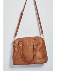 ModCloth - Fashionably Plait Shoulder Bag - Lyst