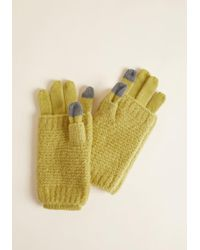 ModCloth - Totally Toasty Convertible Gloves - Lyst