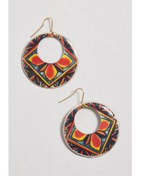 ModCloth - Suddenly Snazzy Earrings - Lyst