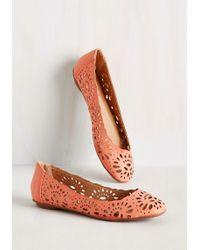 Machi Footwear - Live In The Momentum Flat In Carnation - Lyst