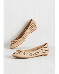 Machi Footwear - Bookstore Mentor Flat In Beige - Lyst