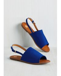Machi Footwear - Two Steps Slingback Sandal In Cobalt - Lyst