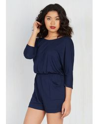 Gilli - Good Times And Time Again Romper - Lyst