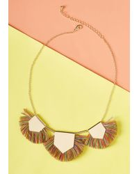 ModCloth | Sass, Queen Necklace | Lyst