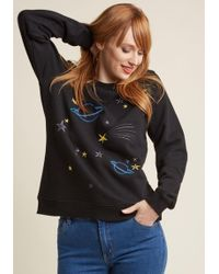 Sugarhill - For A Good Cosmic Embroidered Pullover - Lyst
