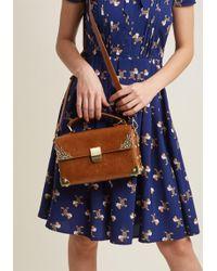 ModCloth | Scrapbook Ending Bag In Brown | Lyst