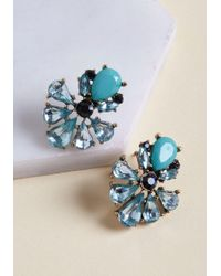 ModCloth - Hues Of Happiness Stud Earrings - Lyst