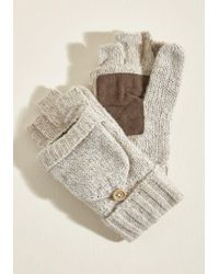ModCloth - Fingertips And Tricks Convertible Gloves - Lyst