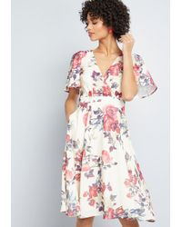 ModCloth - Empowered Outlook A-line Dress - Lyst