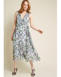 Donna Morgan - Embody The Occasion Wrap Dress - Lyst