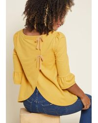 ModCloth - Spiffed-up Sunday Pullover - Lyst