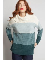 ModCloth - Play It Cowl Chenille Sweater - Lyst