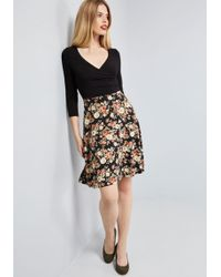 ModCloth - Admired All Over 3, 4 Sleeve Dress - Lyst