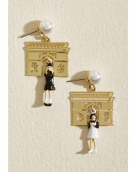 Les Nereides - Purposely Parisienne Earrings - Lyst