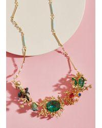 Les Nereides - Ornate Seascape Statement Necklace - Lyst