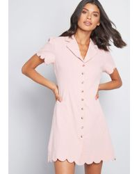 08e1695685 Emily and Fin Present Preferences Shirt Dress in Pink - Lyst